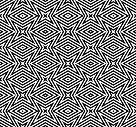 islamic pattern: geometric pattern in islamic art design.black and white pattern background.rhombus