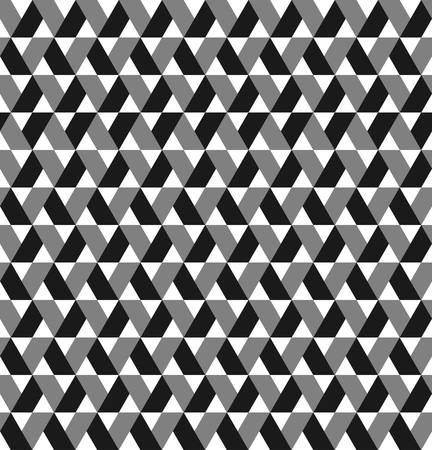 pigeon holes: optical illusion .geometric trapezoid pattern.folding zigzag background with monochrome
