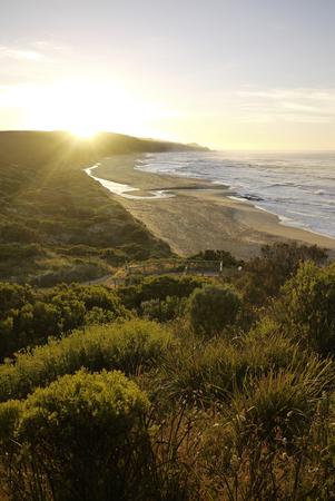 Sunrise at Johanna Beach near Great Ocean Road