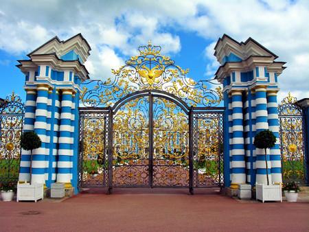 selo: Tzarskoe Selo Catherine Palace Gates