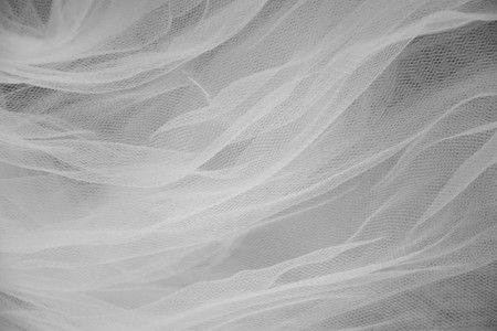 gauzy: Abstract white and black veil background