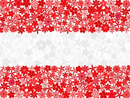 austrian: Floral mosaic Austrian flag
