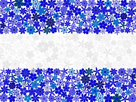 independency: Floral mosaic Nicaragua flag