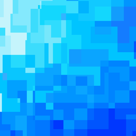 right angled: Abstract blue background consisted of rectangles