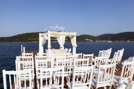 set up: impressive and beautiful wedding set up