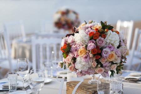 impressive and beautiful wedding set up
