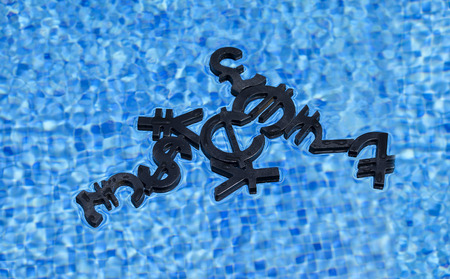 Black economy and currency unit in a pool