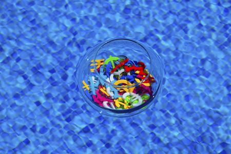 tl: Colourful economy and currency unit in a pool securely