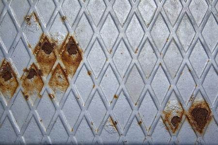 diamond rusty metallic background Stock Photo