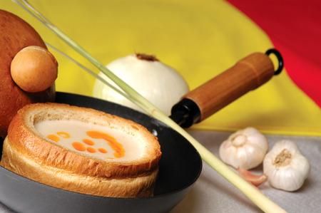 spanish style: Spanish style onion soup