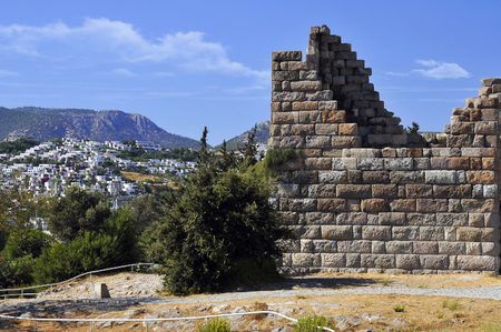 Myndos Gate of famous tourism city Bodrum Turkey