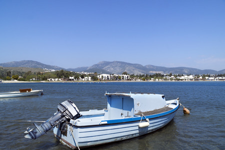 characteristic: A characteristic view from famous tourism city Bodrum Stock Photo