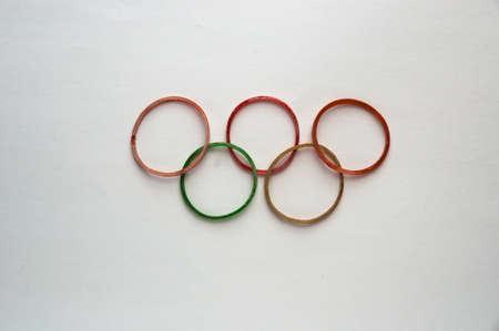 olympic symbol: olympic symbol Editorial