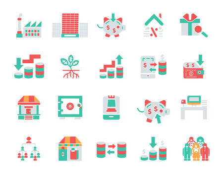 Simple Set of Money Related finance Vector Icons. Editable Stroke Perfect icons for mobile concepts and web apps Illustration