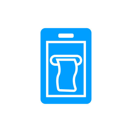 mobile payment icon- vector mobile payment editable icon for website and mobile apps. Illustration
