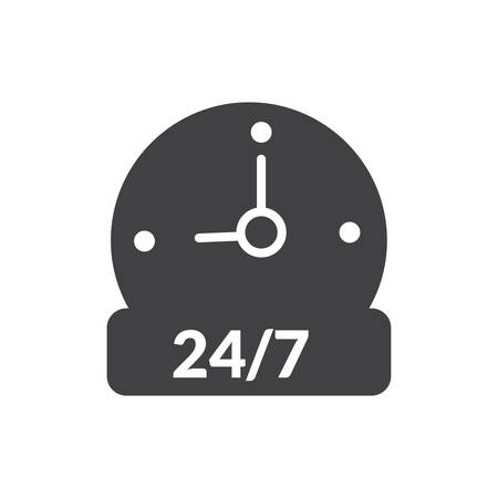 opening hour icon- Full editable opening hour vector icon for website or mobile.