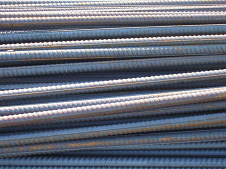 Steel bars 2 Stock Photo