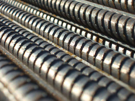 Steel bars 4 Stock Photo