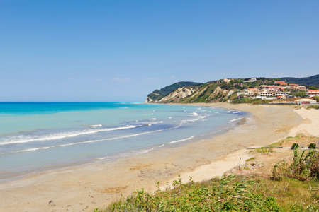 Agios Stefanos beach in Corfu island, Greece