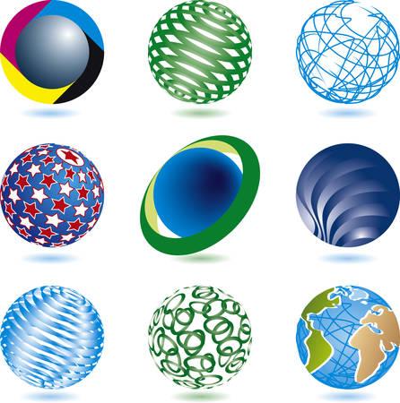 nine vector icons Stock Vector - 5762979