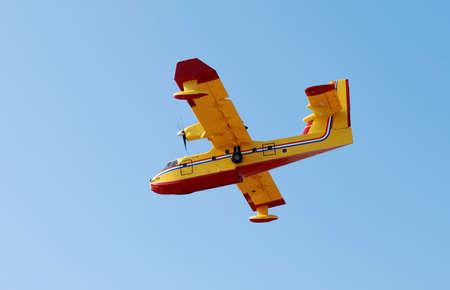 firefighter plane  photo