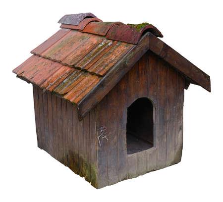 old vintage dog house photo