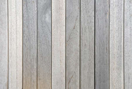 old dried weathered teak decking planks in row