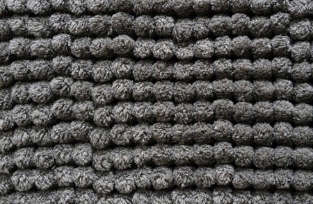 polyester: gray polyester microfiber rug fabric background detail