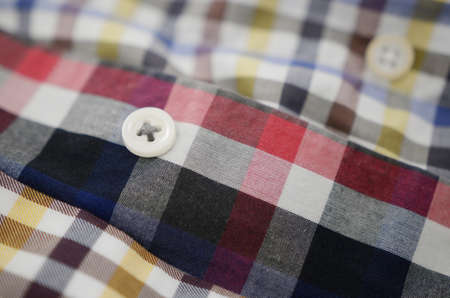shirts cotton textile material with buttons detail