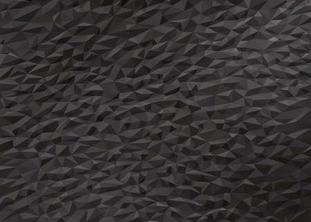 gray black abstract trendy low poly background