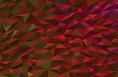 colorful vibrant trendy low poly vector background