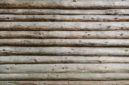old weathered wooden planks wall detail background Standard-Bild