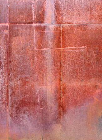 rusty weathered old textured metal background detail Stock Photo
