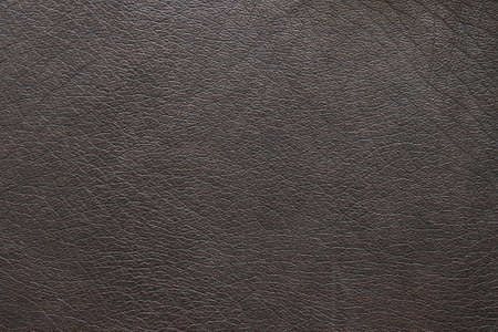 closeup of brown leather texture Stock Photo - 9057317