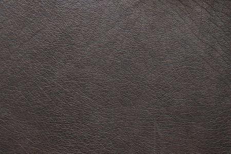 texture cuir marron: vue rapproch�e de la texture en cuir brun Banque d'images
