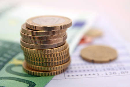 investments: savings concept