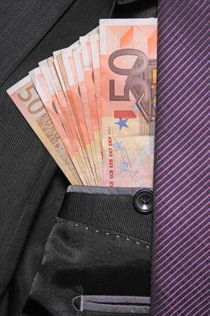 moneymaker: successful businessman concept