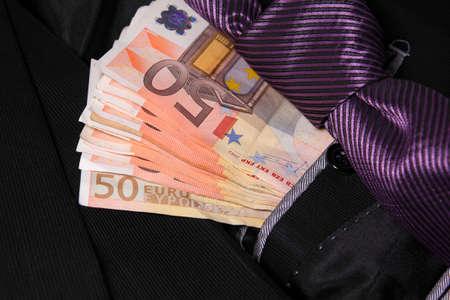 moneymaker: successful businessman concept Stock Photo