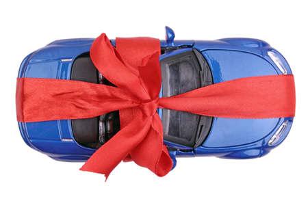 Toy car gift Reklamní fotografie
