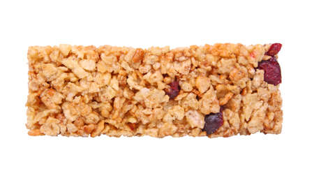 cereal bar: cereal bar isolated Stock Photo