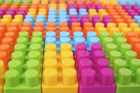 colorful blocks surface photo