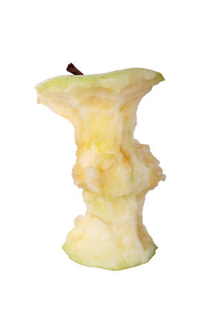 apple that has been eaten  photo