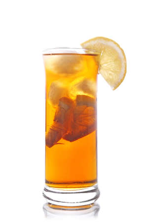 glass of ice tea Stock Photo - 14183255