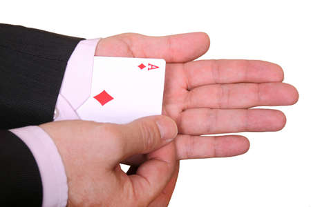 deceive: pulling out a hidden ace from the sleeve