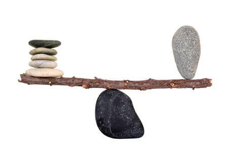 balanza en equilibrio: lograr el equilibrio perfecto