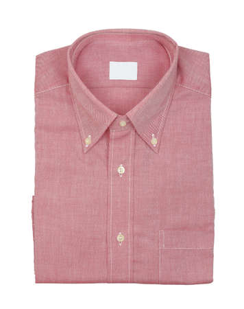 brand new shirt isolated on white Stock Photo - 17499526