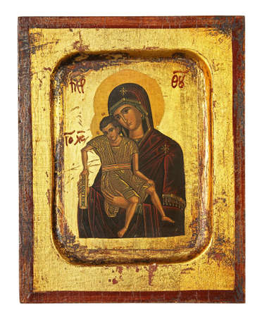 greek orthodox religious icon photo