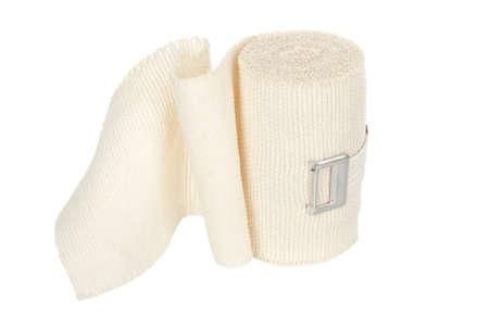 elastic bandage isolated on white Standard-Bild