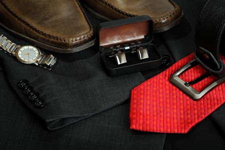 variety of formal menswear