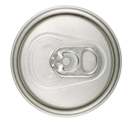 cola canette: macro peut TOP isolé sur blanc